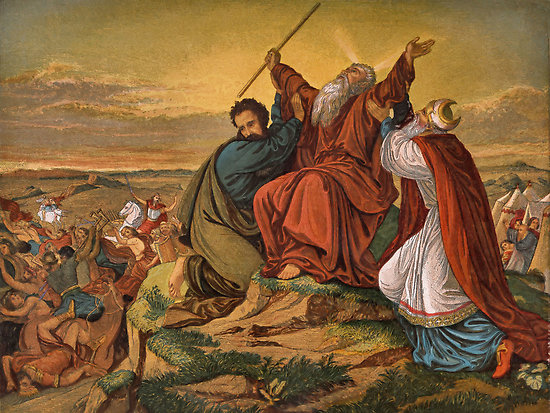 the battle of faith of moses garcia Faith for your family, part 1 by adrian rogers i believe our greatest joy 24by faith moses a spiritual battle can be fought and won by faith.